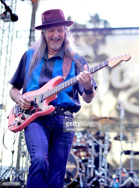 Patrick Simmons of the Doobie Brothers performs at the 17th Annual Doheny Blues Festival at Doheny State Beach on May 18 2014 in Dana Point California