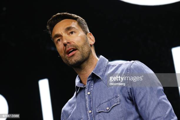 Patrick Soderlund chief design officer of Electronic Arts Inc speaks during the company's EA Play event ahead of the E3 Electronic Entertainment Expo...