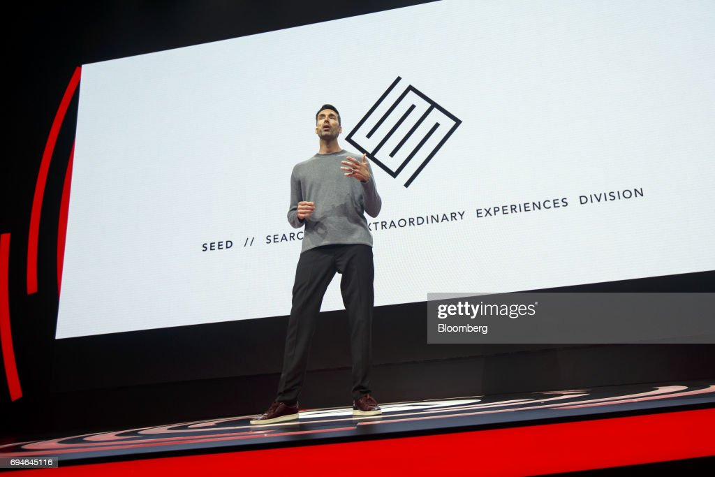 Patrick Soderlund, executive vice president of Electronic Arts Inc. (EA), speaks during the company's EA Play event ahead of the E3 Electronic Entertainment Expo in Los Angeles, California, U.S., on Saturday, June 10, 2017. EA revealed two new titles along with the annual iterations of the company's sports games, as well as unveiling the highly anticipated 'Star Wars: Battlefront II' open-world multiplayer gameplay. Photographer: Patrick T. Fallon/Bloomberg via Getty Images