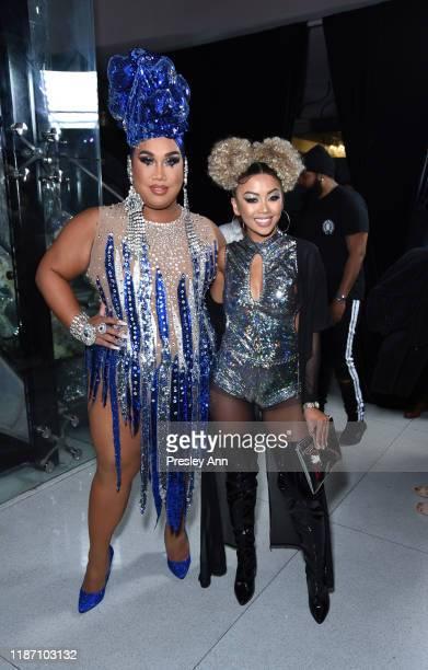 Patrick Starrr and Liane V attend Patrick Starrr birthday party on November 11 2019 in Los Angeles California