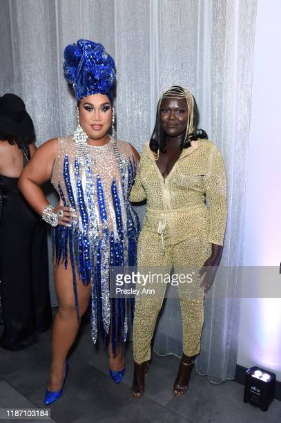 Patrick Starrr and Nyma Tang attend Patrick Starrr birthday party on November 11 2019 in Los Angeles California