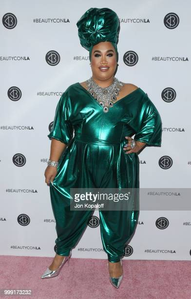Patrick Starrr attends Beautycon Festival LA 2018 at Los Angeles Convention Center on July 14 2018 in Los Angeles California