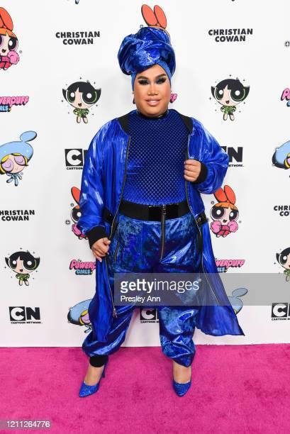 Patrick Starrr attends Christian Cowan x Powerpuff Girls Runway Show on March 08, 2020 in Hollywood, California.