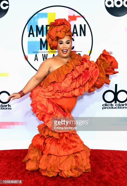 Patrick Starrr attends the 2018 American Music Awards at Microsoft Theater on October 9 2018 in Los Angeles California