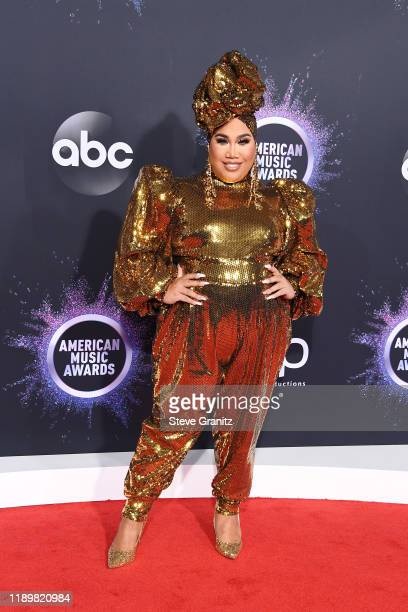 Patrick Starrr attends the 2019 American Music Awards at Microsoft Theater on November 24 2019 in Los Angeles California