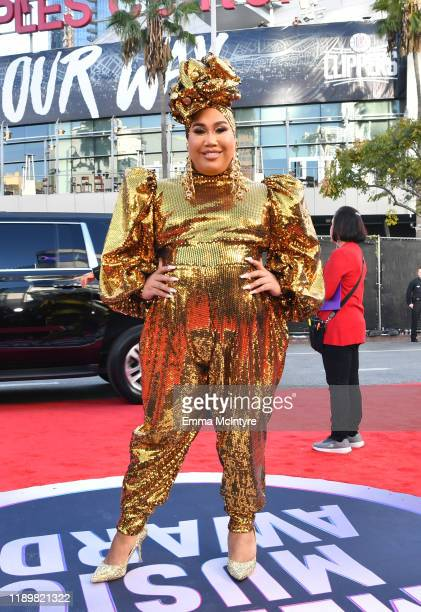 Patrick Starrr attends the 2019 American Music Awards at Microsoft Theater on November 24, 2019 in Los Angeles, California.