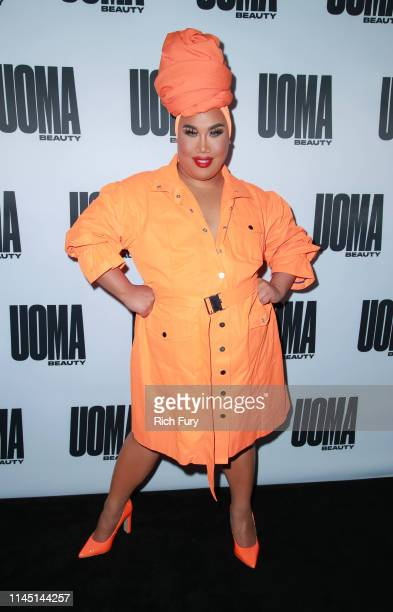 Patrick Starrr attends the House of Uoma's launch of the Uoma Beauty makeup brand at NeueHouse Hollywood on April 25 2019 in Los Angeles California