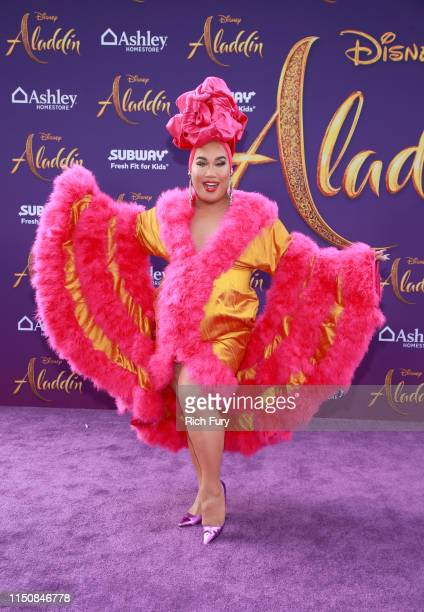 Patrick Starr attends the premiere of Disney's Aladdin on May 21 2019 in Los Angeles California