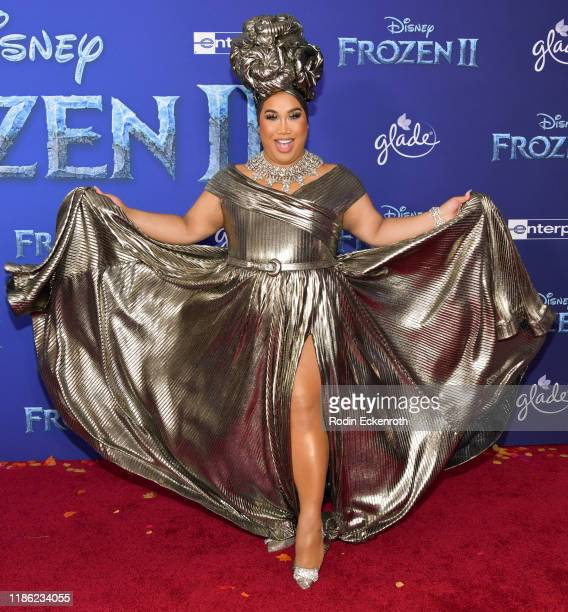 Patrick Starrr attends the Premiere of Disney's Frozen 2 at Dolby Theatre on November 07 2019 in Hollywood California