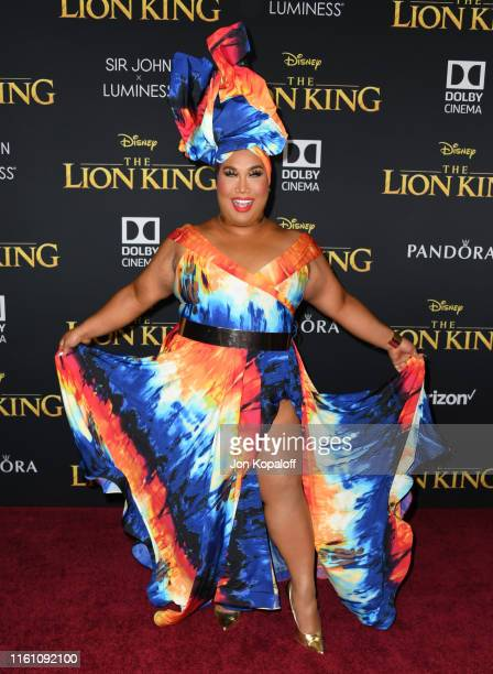 Patrick Starrr attends the Premiere Of Disney's The Lion King at Dolby Theatre on July 09 2019 in Hollywood California