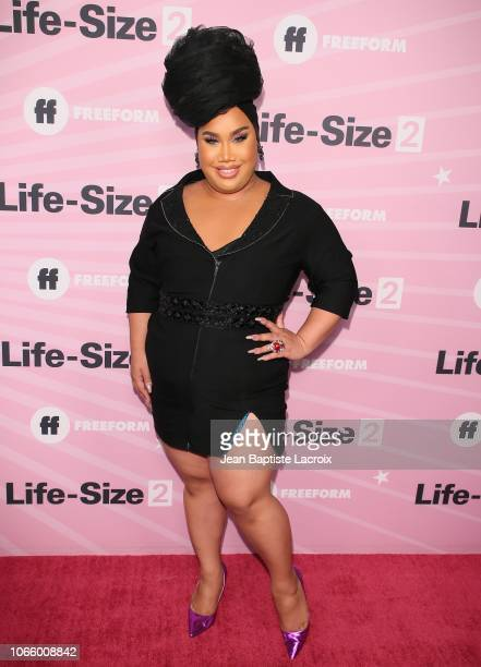 Patrick Starrr attends the premiere of 'Life Size 2' at Hollywood Roosevelt Hotel on November 27 2018 in Hollywood California