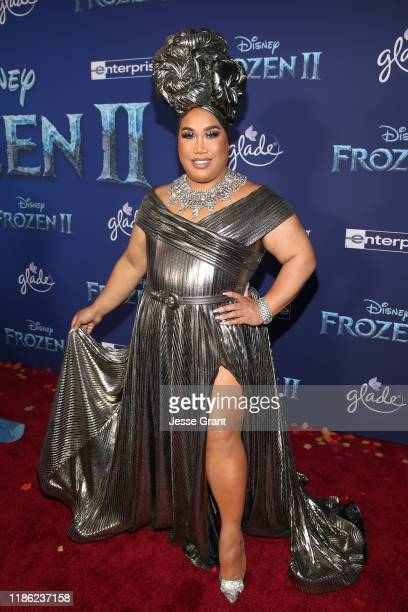 Patrick Starrr attends the world premiere of Disney's Frozen 2 at Hollywood's Dolby Theatre on Thursday November 7 2019 in Hollywood California