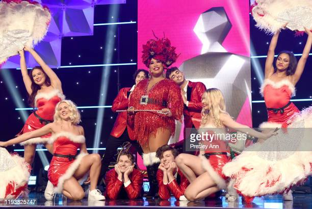 Patrick Starrr performs onstage during The 9th Annual Streamy Awards on December 13 2019 in Los Angeles California