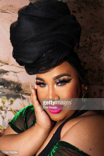 Patrick Starrr poses during A Poolside Pride Celebration at The Standard Hollywood on June 08 2019 in West Hollywood California