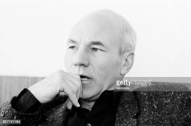 Patrick Stewart actor who is playing the role of Captain Jean Luc Picard in Star Trek The Next Generation pictured 20th April 1988
