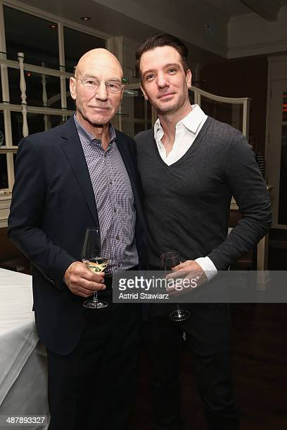 Patrick Stewart and JC Chasez attend the Dom Perignon and Eric Podwall host the evening before The White House Correspondents' Dinner at Fiola Mare...