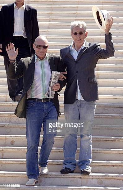 Patrick Stewart and Sir Ian McKellen during 2006 Cannes Film Festival Seen Around Town Day 7 in Cannes France
