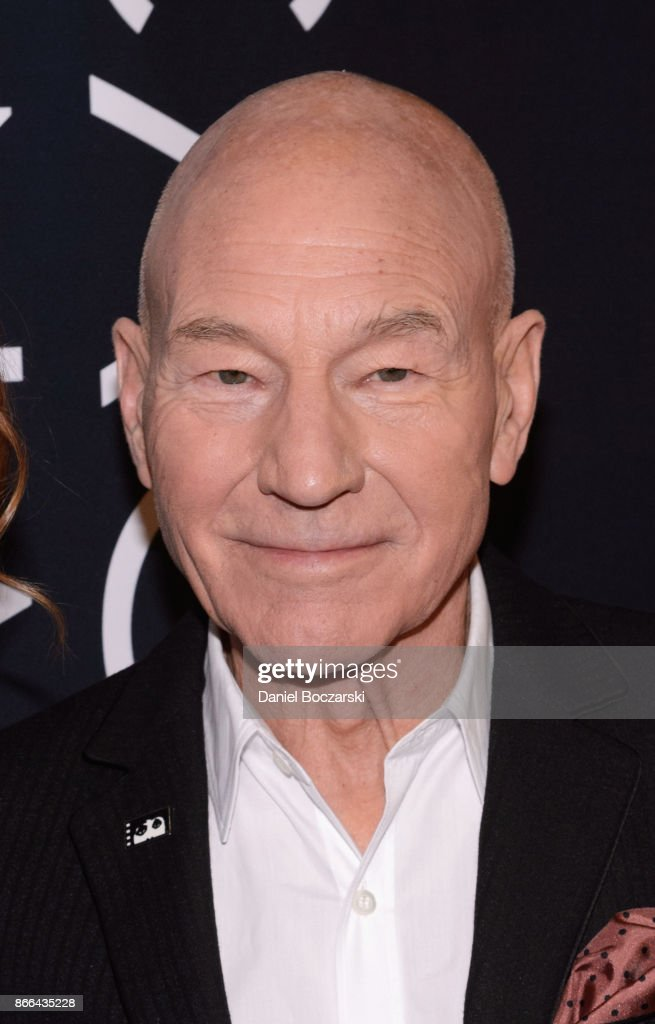 Patrick Stewart attends the Chicago International Film Festival at AMC River East Theater on October 25, 2017 in Chicago, Illinois.