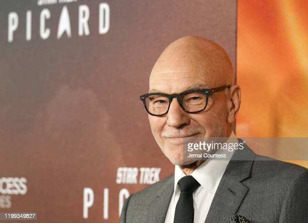 Patrick Stewart attends the premiere of Star Trek Picard at ArcLight Cinerama Dome on January 13 2020 in Hollywood California