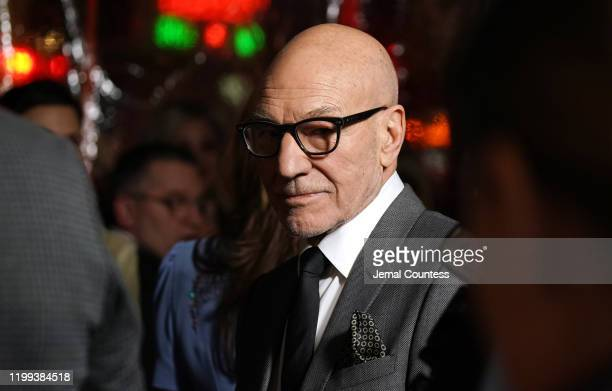 """Patrick Stewart attends the premiere of """"Star Trek: Picard"""" at ArcLight Cinerama Dome on January 13, 2020 in Hollywood, California."""