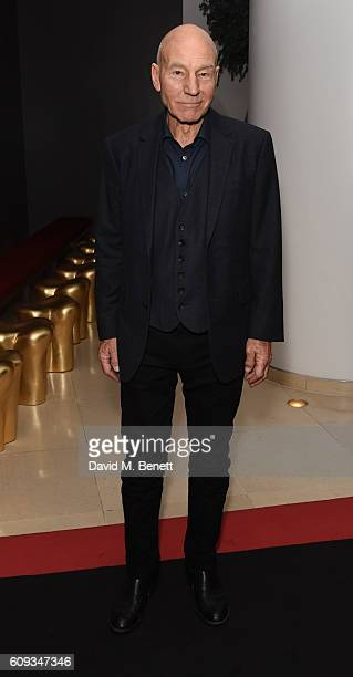 Patrick Stewart attends the press night after party for 'No Man's Land' at St Martins Lane on September 20 2016 in London England