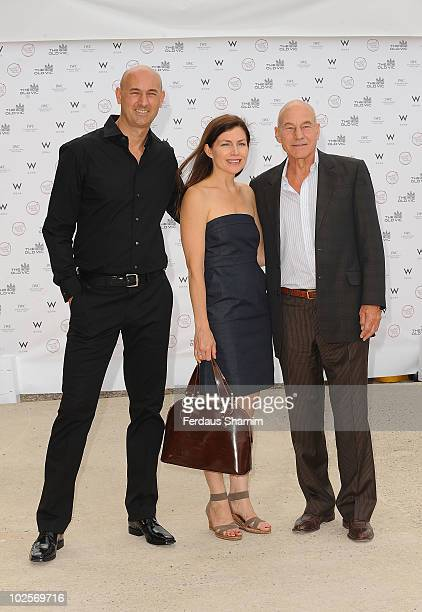 Patrick Stewart attends the Summer fundraising party for The Old Vic Theatre at Battersea Power station on July 1, 2010 in London, England.