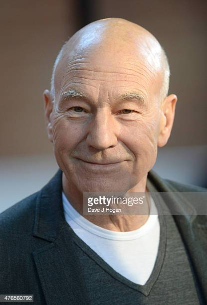 Patrick Stewart attends the UK Premiere of Mr Holmes at the Odeon Kensington on June 10 2015 in London England