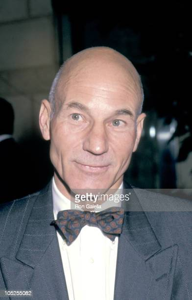 Patrick Stewart during Education First Benefit February 10 1992 at Nikko Hotel in Los Angeles California United States