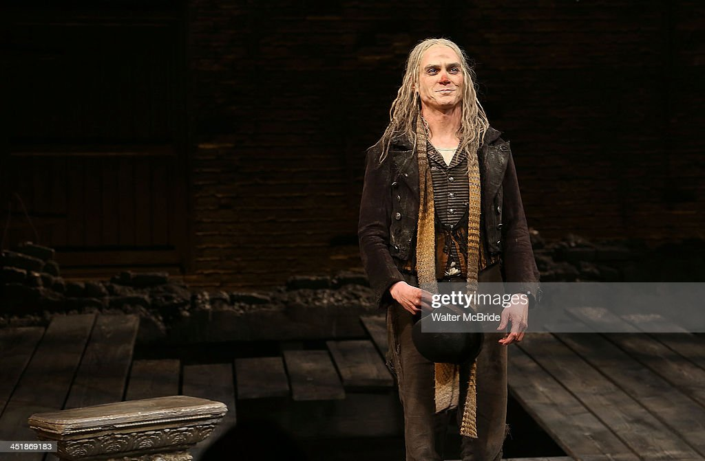 Patrick Stewart during the Opening Night Curtain Call for 'Waiting For Godot' at the Cort Theatre on November 24, 2013 in New York City.