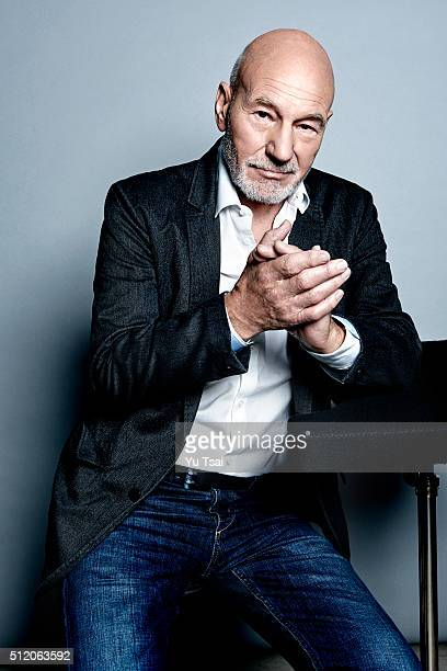 Patrick Stewart is photographed at the Toronto Film Festival for Variety on September 12 2015 in Toronto Ontario