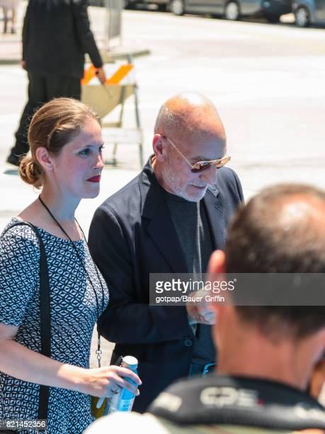 Patrick Stewart is seen on July 23 2017 in Los Angeles California