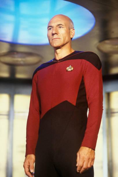 Patrick Stewart of Star Trek: The Next Generation