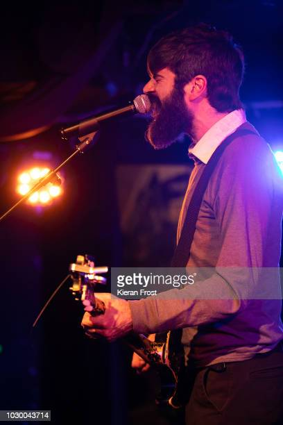 Patrick Stickles of Titus Andronicus performs at Whelan's on September 9 2018 in Dublin Ireland