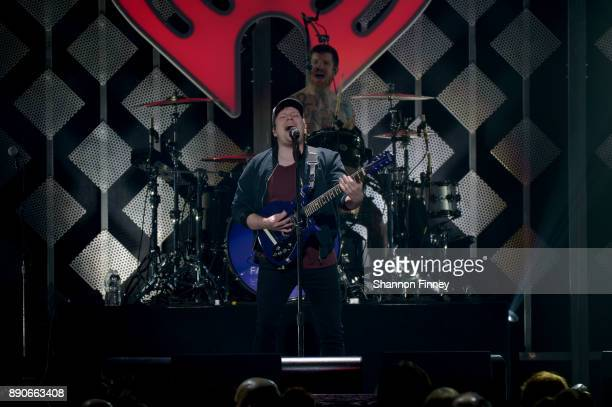 Patrick Stump of Fall Out Boy perform onstage during Hot 995's Jingle Ball 2017 Presented by Capital One at Capital One Arena on December 11 2017 in...