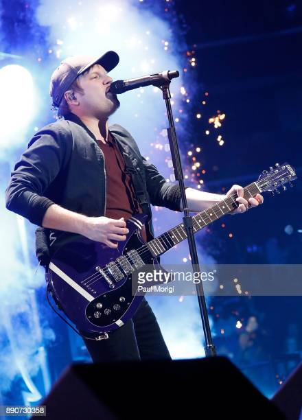 Patrick Stump of Fall Out Boy performs at the Hot 995 iHeartRadio Jingle Ball 2017 at Capital One Arena on December 11 2017 in Washington DC