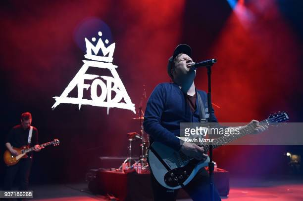 Patrick Stump of Fall Out Boy performs onstage at Stay Amped 'A Concert to End Gun Violence' at The Anthem on March 23 2018 in Washington DC