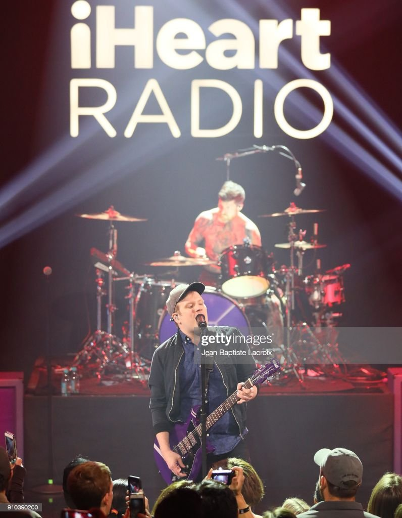 iHeartRadio Album Release Party With Fall Out Boy : News Photo