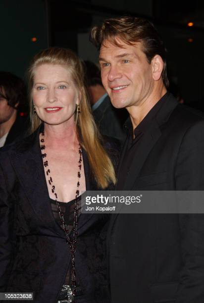 Patrick Swayze and wife Lisa Niemi during Dirty Dancing Havana Nights World Premiere at The Arclight Cinerama Dome in Hollywood California United...