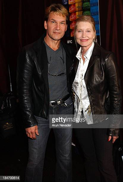Patrick Swayze and wife Lisa Niemi during The 18th Annual IFP Independent Spirit Awards Official Talent
