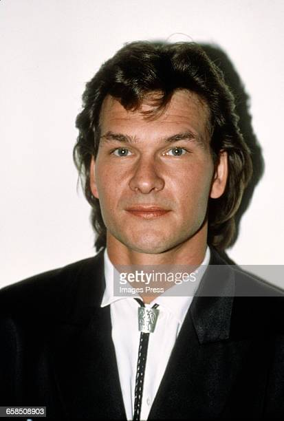 Patrick Swayze circa 1987 in New York City