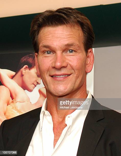 Patrick Swayze costar/cowriter/coproducer during Patrick Swayze and Wife Lisa Niemi Celebrate Their New Film 'One Last Dance' at The Joyce Theater in...