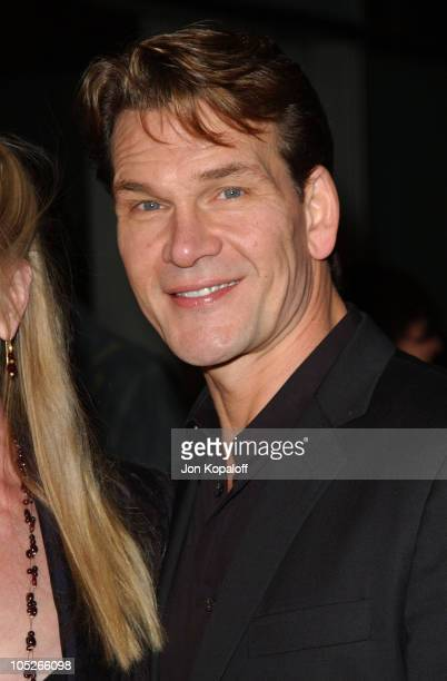 Patrick Swayze during 'Dirty Dancing Havana Nights' World Premiere at The Arclight Cinerama Dome in Hollywood California United States