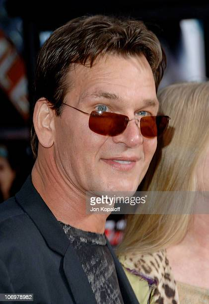 Patrick Swayze during 'Mission Impossible III' Los Angeles Fan Screening Arrivals at Chinese Theater in Hollywood California United States