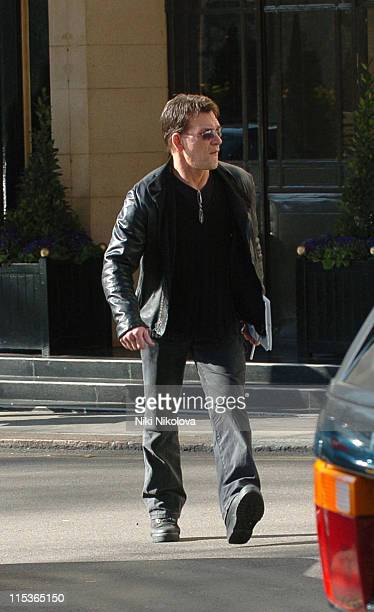 Patrick Swayze during Patrick Swayze Sighting in London March 18 2005 at Dorchester Hotel in London Great Britain