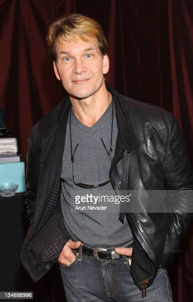 Patrick Swayze during The 18th Annual IFP Independent Spirit Awards Official Talent Gift Bag Produced by On 3 Productions at Santa Monica Beach in...