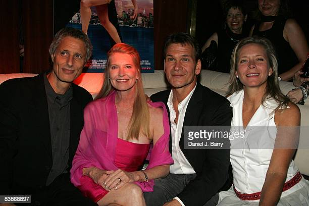 Patrick Swayze wife Lisa Niemi and friends Robert Baruc left and Suzanne Blech right