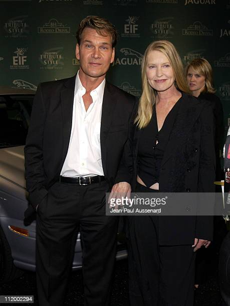 Patrick Swayze wife Liza during 'Jaguar's Tribute to Style on Rodeo Drive' Benefit at Rodeo Drive in Beverly Hills California United States