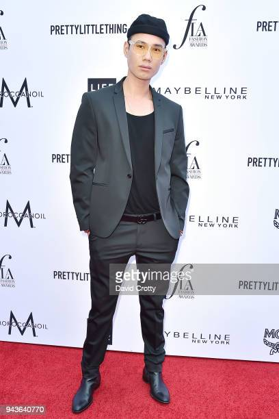Patrick Ta attends The Daily Front Row's 4th Annual Fashion Los Angeles Awards Arrivals at The Beverly Hills Hotel on April 8 2018 in Beverly Hills...