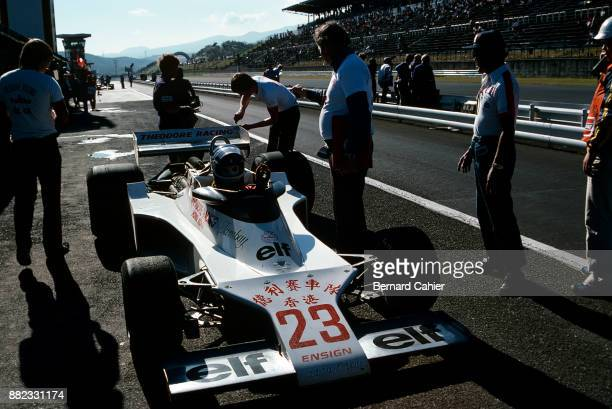 Patrick Tambay EnsignFord N177 Grand Prix of Japan Fuji Speedway 23 October 1977