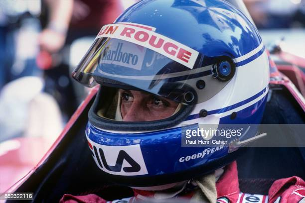 Patrick Tambay, Ferrari 126C2, Grand Prix of Italy, Autodromo Nazionale Monza, 12 September 1982.